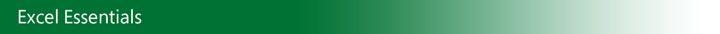 Noções básicas do Excel