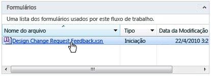 Editar formulário
