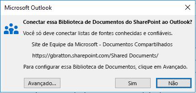 Conectar a uma Biblioteca de Documentos do SharePoint