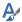 O ícone de opções de formatação