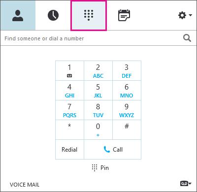 Editar a caixa de diálogo de número de telefone