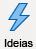 ícone com um raio