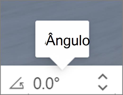 Interface do usuário angular
