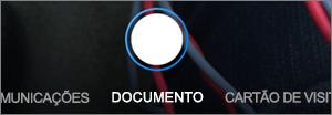 Opções de digitalização do OneDrive para iOS