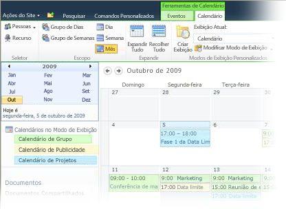 Calendário Grupo