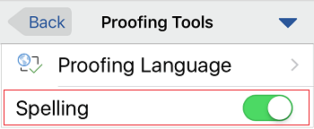 Controle de ortografia