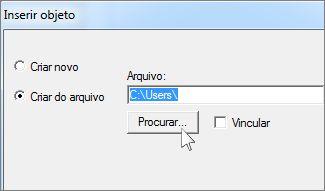 Criar Arquivo