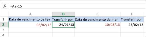 calcular data