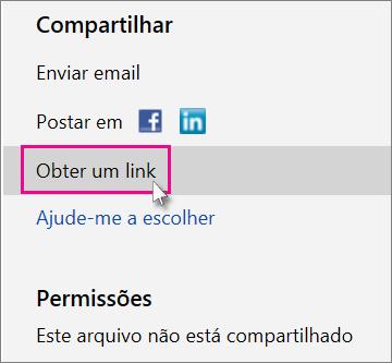 Obter um link