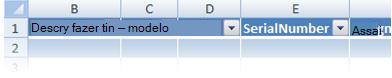 personalizando os cabeçalhos de tabela do excel