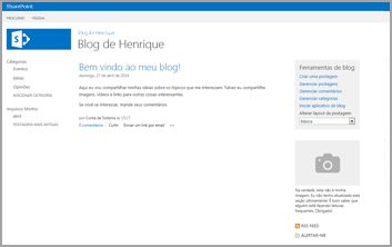 Modelo de Site do Blog
