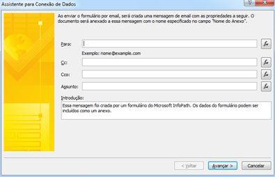 Enviar e salvar dados do formulário