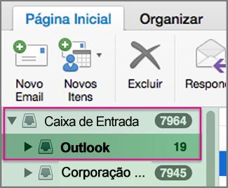Enviar email usando uma conta diferente da padrão