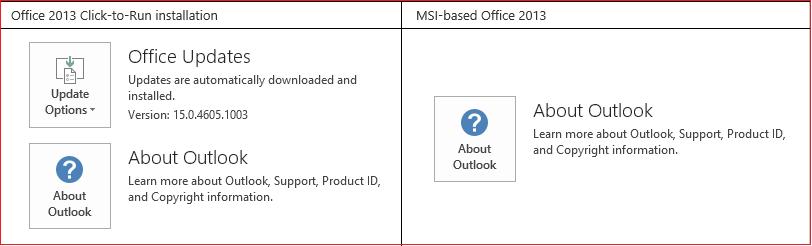 Clique para Executar vs. MSI