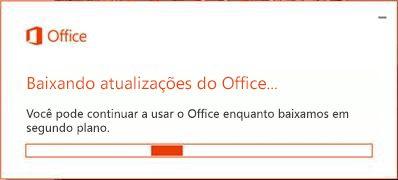 Baixar Atualizações do Office