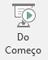 Esse botão inicia uma apresentação de slides, começando pelo primeiro slide da apresentação.