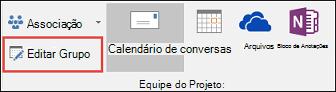 Editar um grupo no Outlook 2016