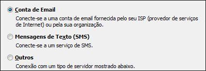 Outlook 2010 Adicionar Nova Conta. Conta de Email