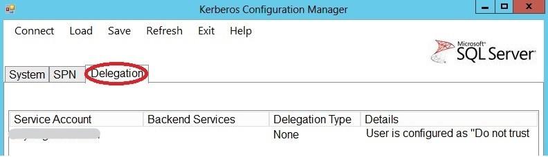 KerbConfigManger_Delegation