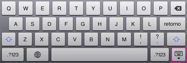 Ocultar o teclado na tela