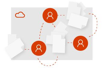Inicie o trabalho em uma configuração de equipe.