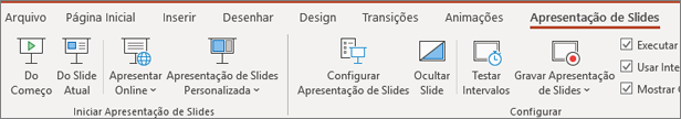 Apresentação de Slides do PowerPoint do Office 365