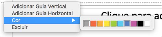 Guias do usuário multicoloridas para criar a apresentação perfeita.