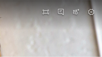 Captura de tela de opções de reunião
