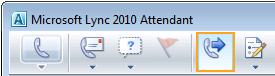 Ícone de encaminhamento de chamadas do Attendant
