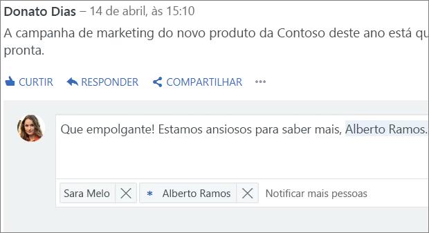 @menção