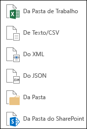 Obter dados de um arquivo