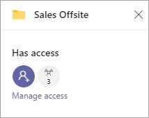Gerenciar o painel de acesso