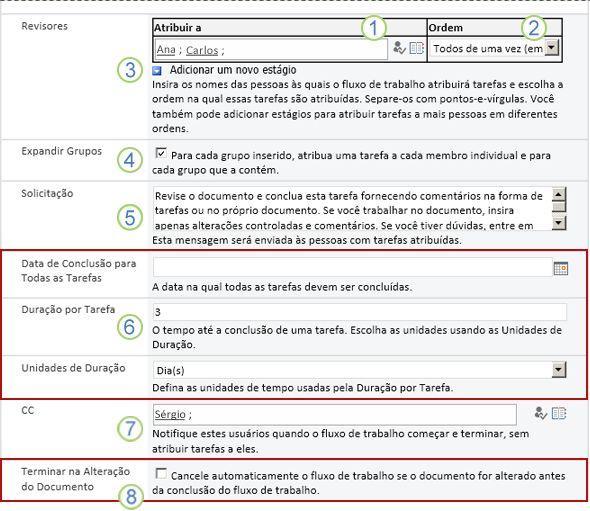 Segunda página do formulário de associação com textos explicativos numerados