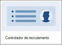 Modelo de lista do rastreador de recrutamento