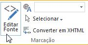 Editar Fonte no Site Público do SharePoint Online