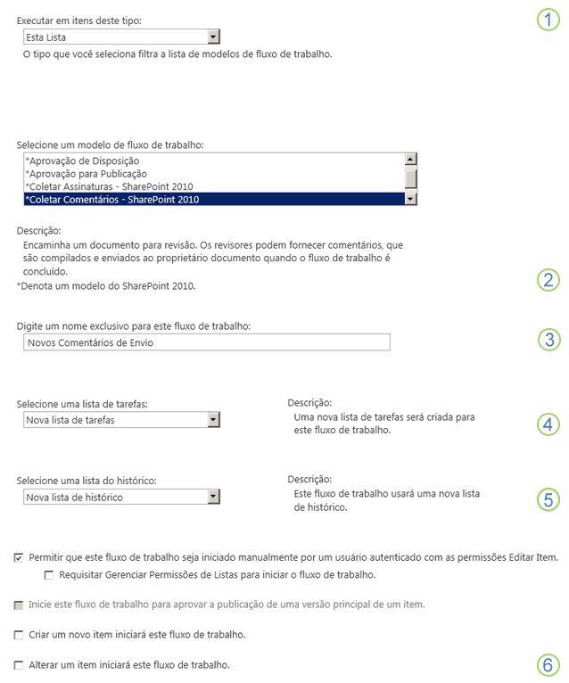 primeira página do formulário de associação com textos explicativos numerados
