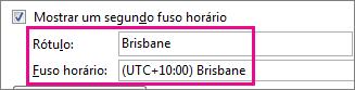 Fuso horário de Brisbane