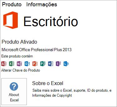 Instalação MSI do Excel