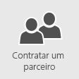 Contratar um parceiro para ajudá-lo a implantar o Office 365