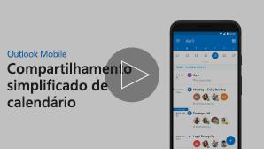 Imagem em miniatura de vídeo de Compartilhar Calendário