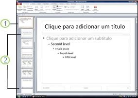 Slide mestre e layouts