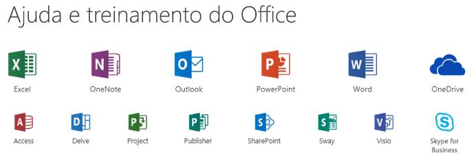 Opções de suporte para o Microsoft Office