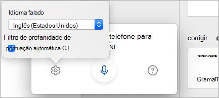 Ditar em outros idiomas