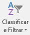Classificar e filtrar