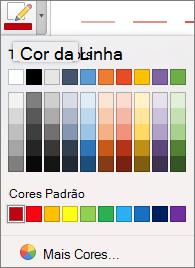 Escolha uma cor