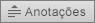 Mostra o botão Anotações no PowerPoint 2016 para Mac