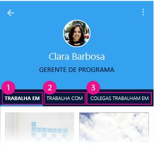 Página pessoal do Delve para Android