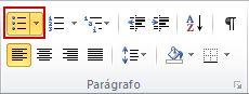 Marcadores de Parágrafo