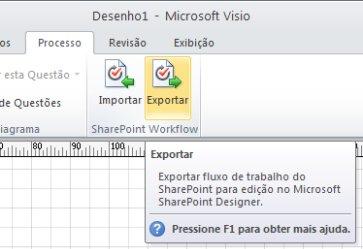 Botão Exportar