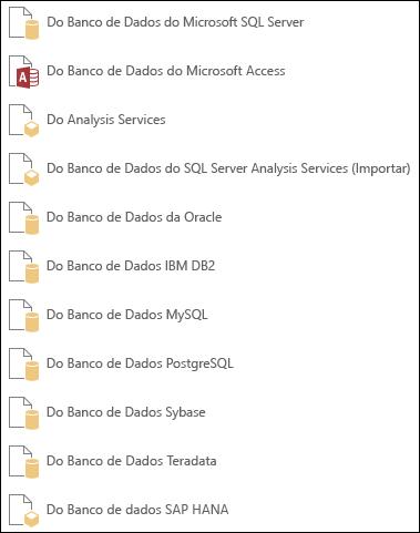 Obter dados de um banco de dados